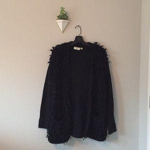 EUC RD Style Fuzzy Cardigan